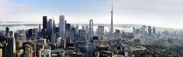 detail photo of downtown Toronto at Shangri-La Toronto